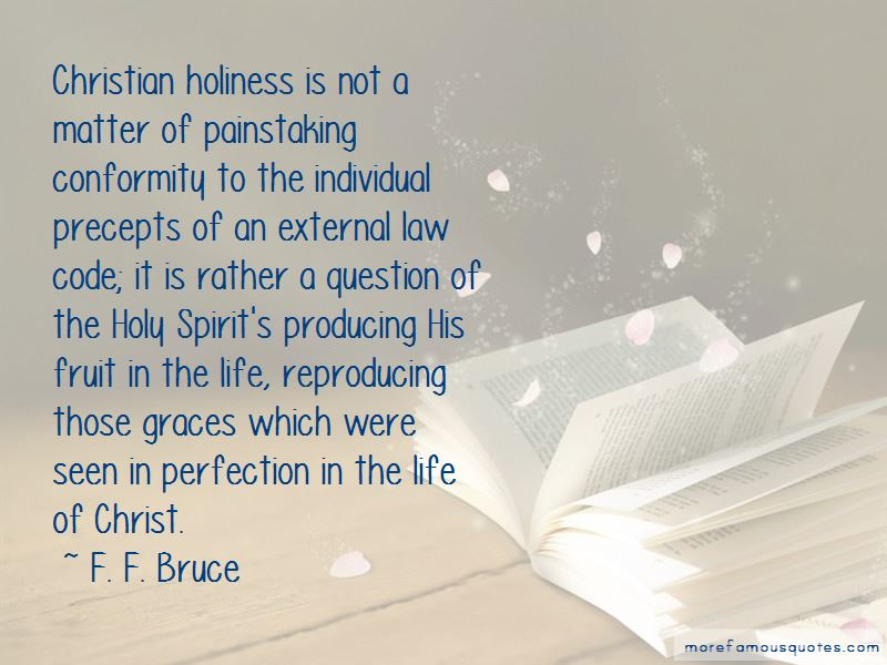 Christian Holiness Quotes