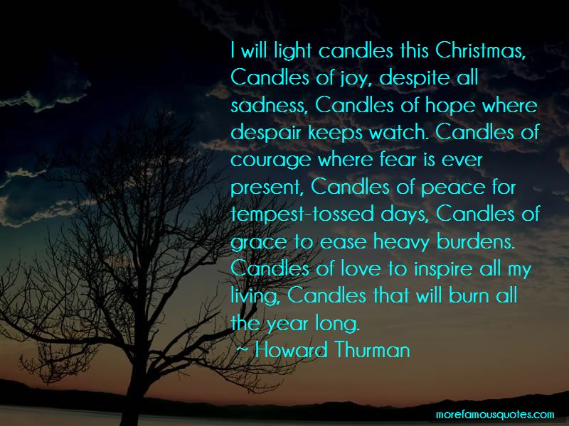 Christmas Candles Quotes
