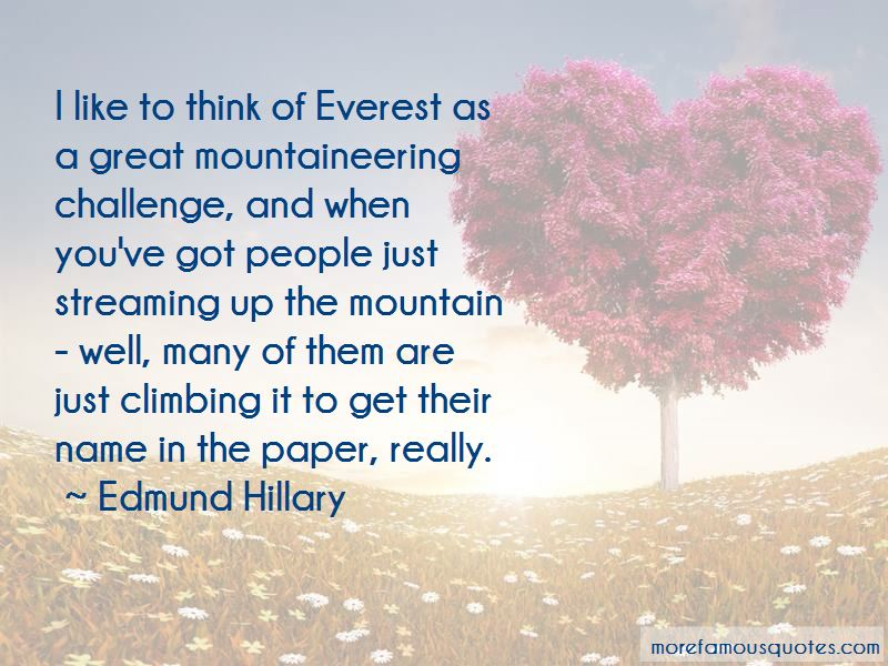 Climbing Mountaineering Quotes