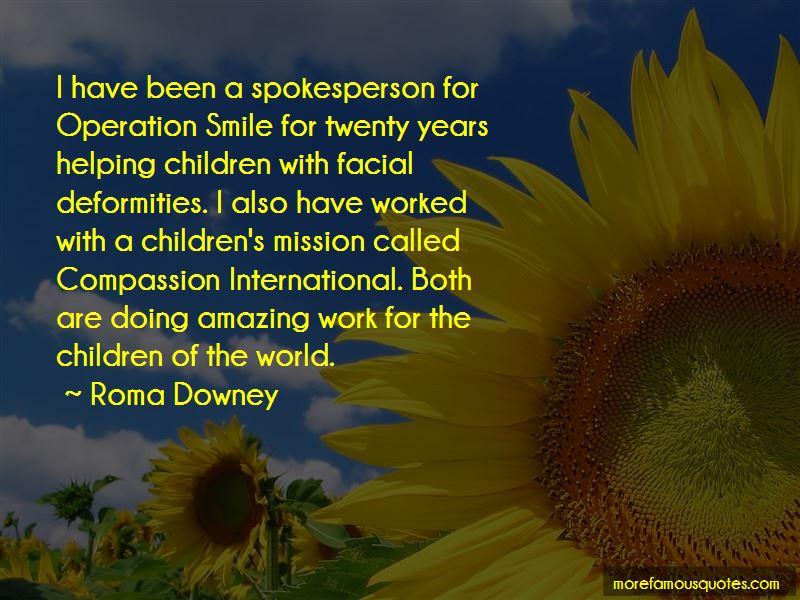 Compassion International Quotes