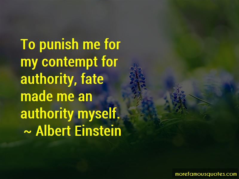 Contempt For Authority Quotes