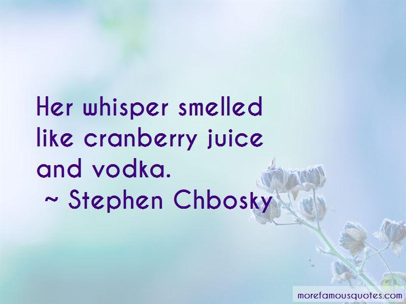 Cranberry Juice Quotes