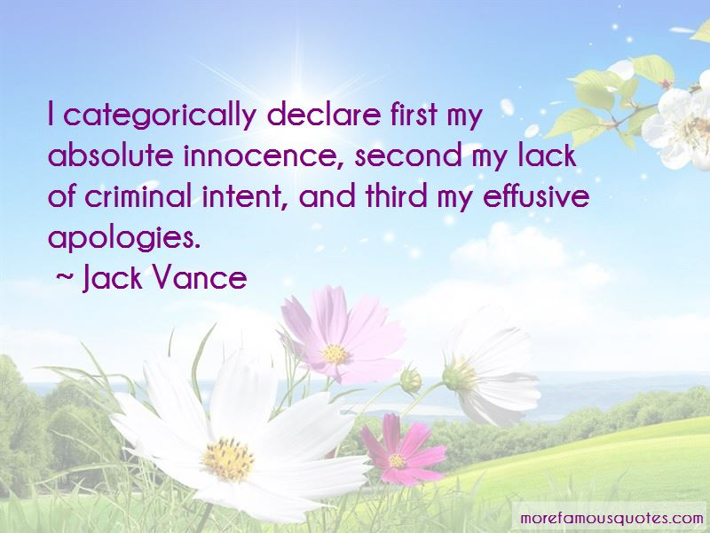 Criminal Intent Quotes