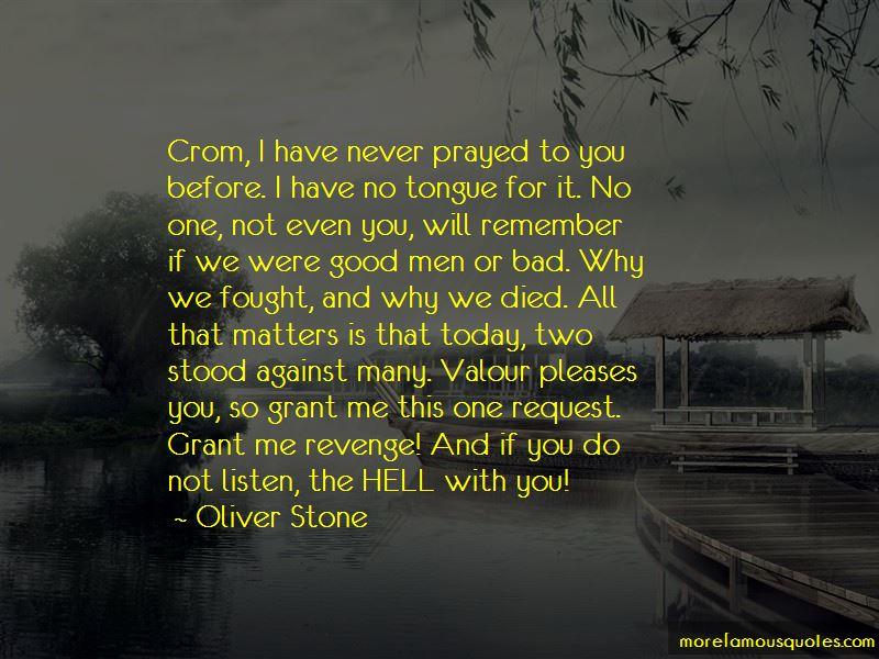 Crom Quotes