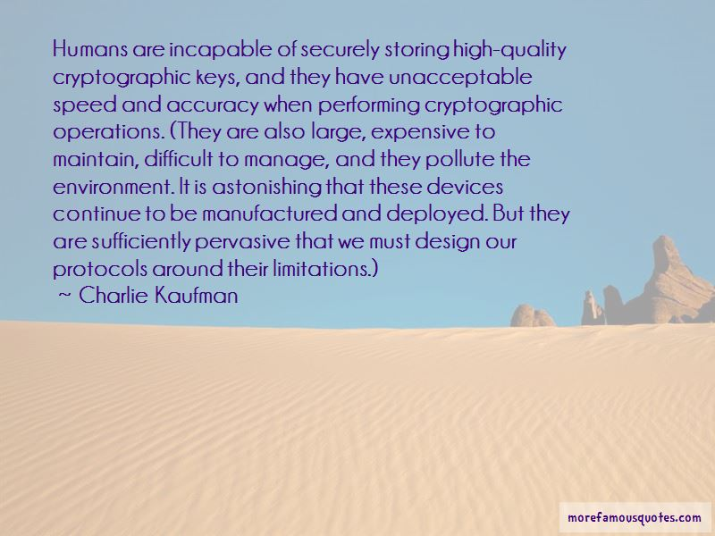 Cryptographic Quotes