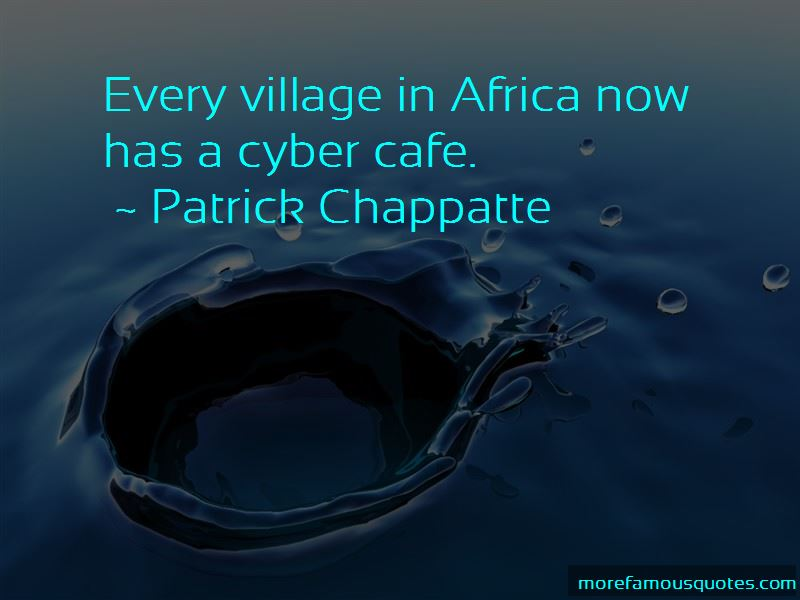 Cyber Cafe Quotes
