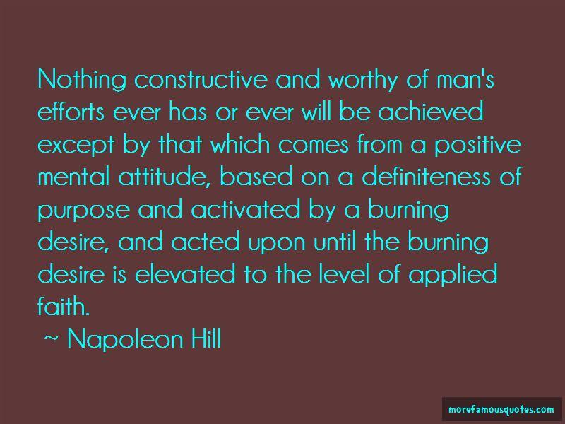 Definiteness Of Purpose Quotes