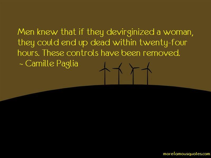 Devirginized Quotes