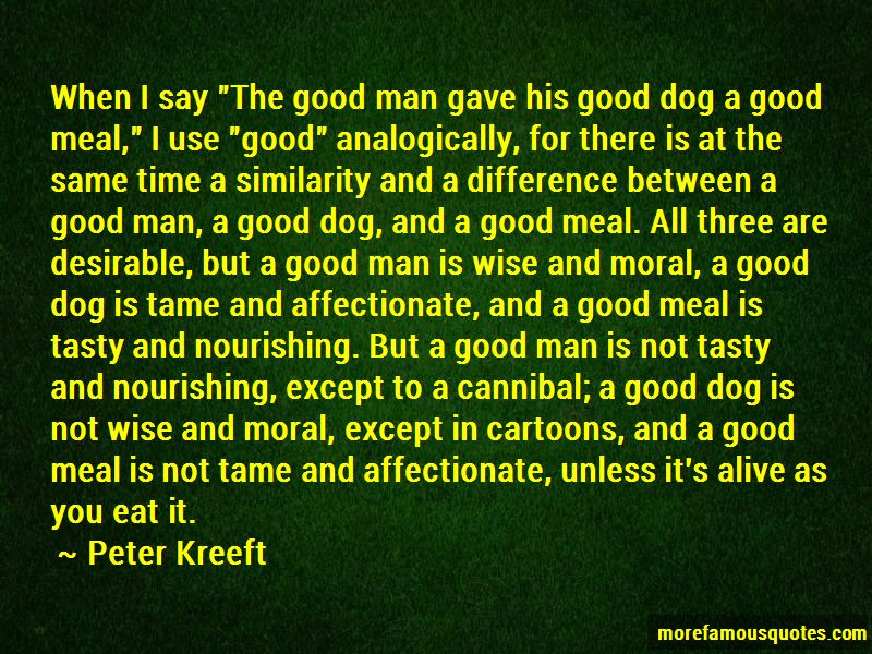 Difference Between Man And Dog Quotes