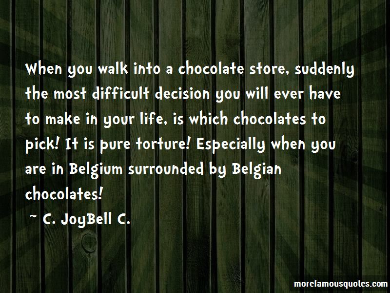 Difficult Life Decision Quotes
