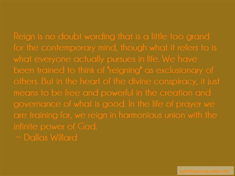Divine Conspiracy Quotes