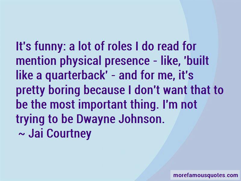 Ej Johnson Funny Quotes