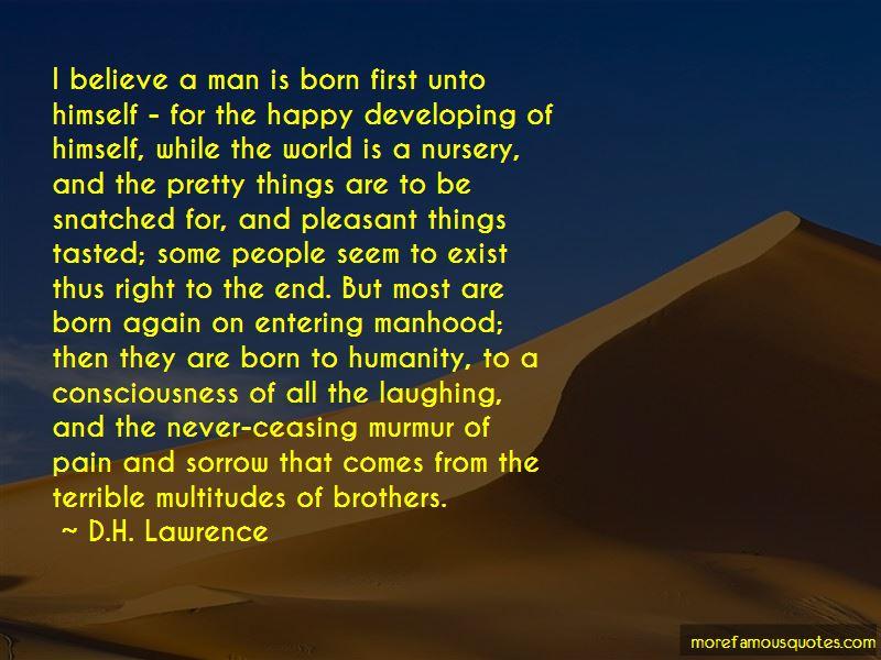 Entering Manhood Quotes