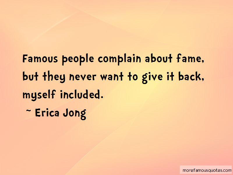 Famous Complain Quotes