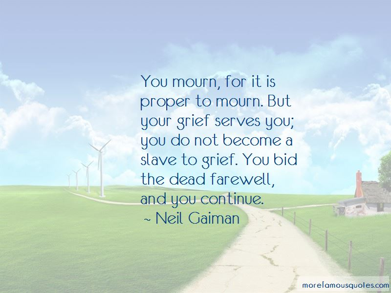 Farewell To The Dead Quotes