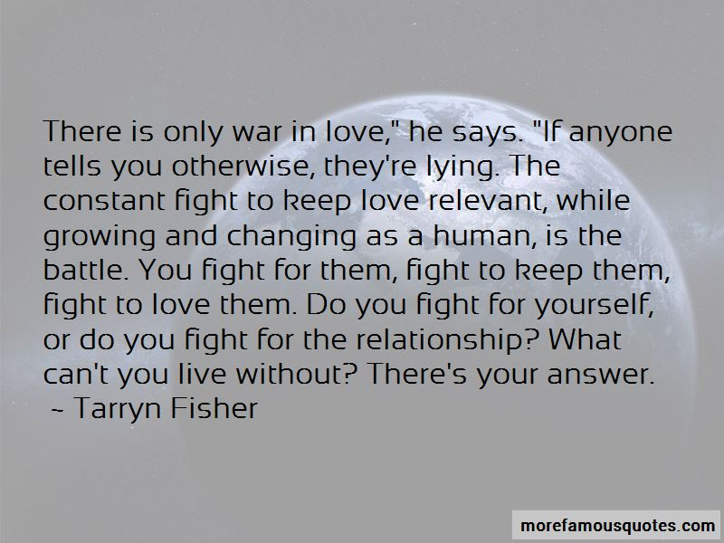 Fight For The Relationship Quotes