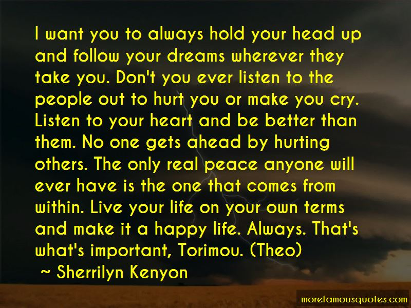 Follow your heart and head quotes top 12 quotes about follow your follow your heart and head quotes thecheapjerseys Image collections