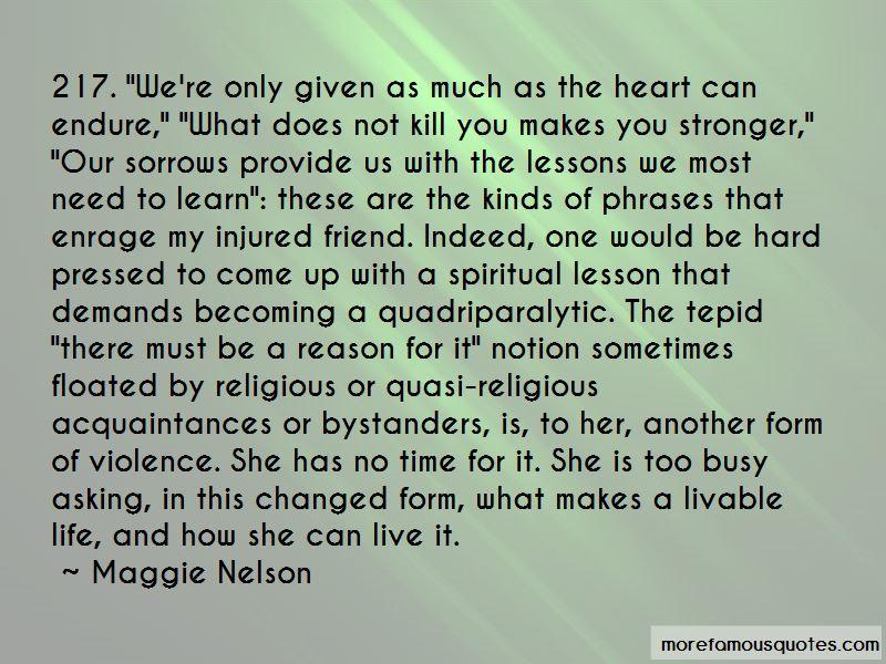 Friend Life Lesson Quotes