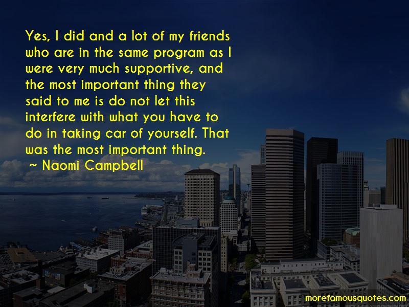 Friends Interfere Quotes