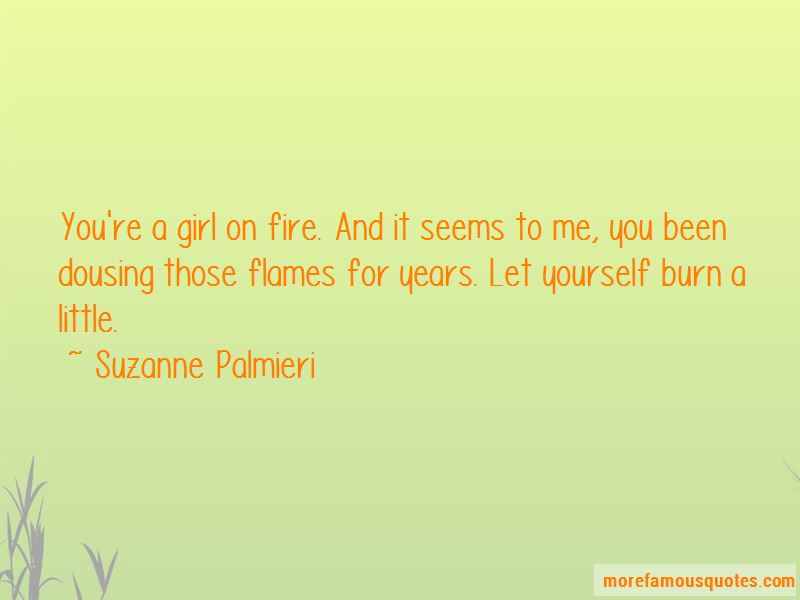 Girl On Fire Quotes