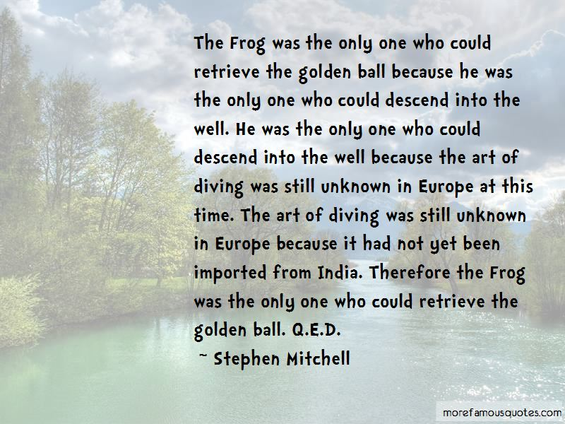 Golden Ball Quotes