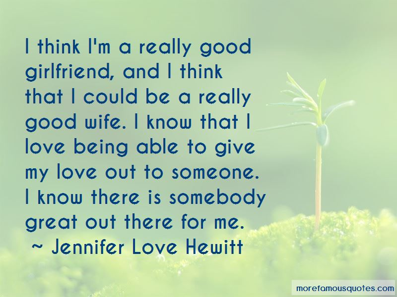 Good Girlfriend Love Quotes Pictures 2