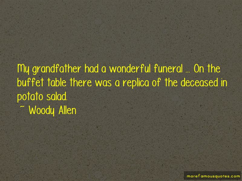 Grandfather Deceased Quotes