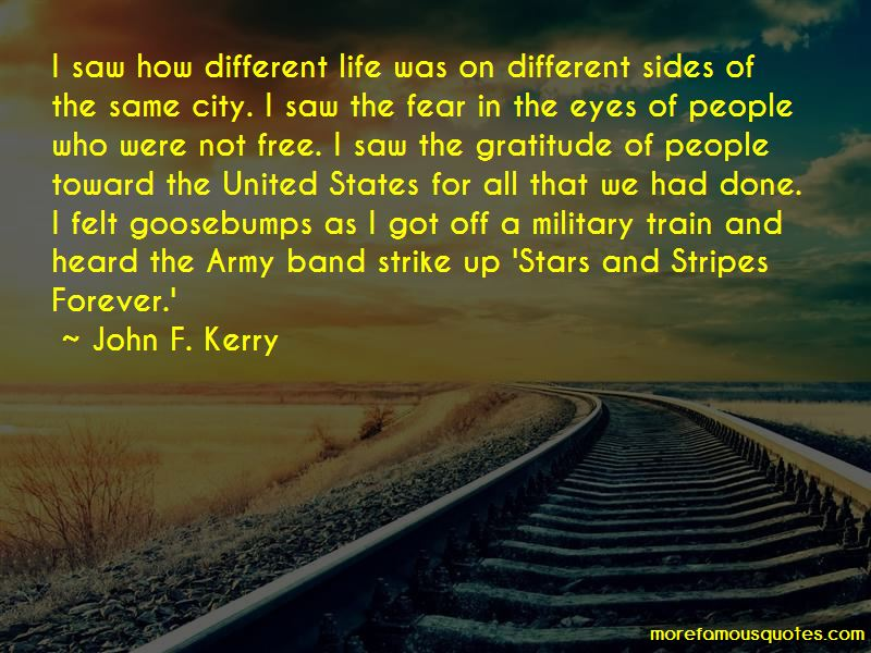 Gratitude For Military Quotes