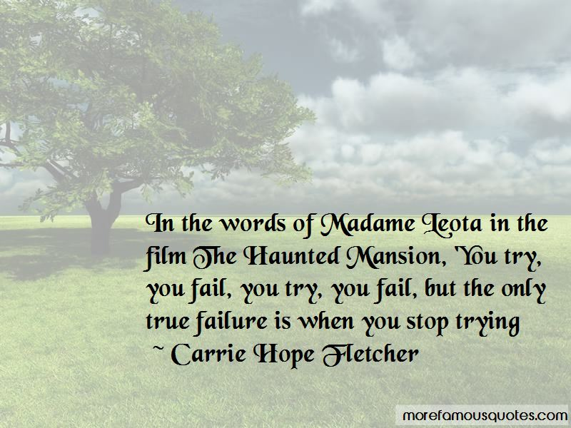 Haunted Mansion Madame Leota Quotes