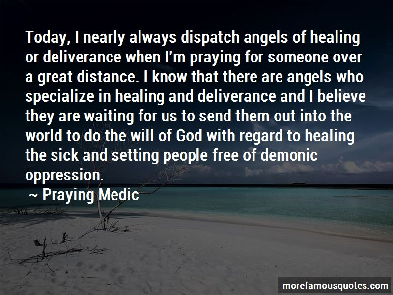 Healing And Deliverance Quotes