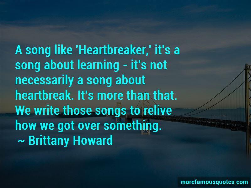 Heartbreak Song Quotes Pictures 3