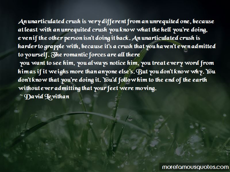 I Know You More Than You Know Yourself Quotes