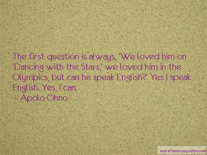I Speak English Quotes