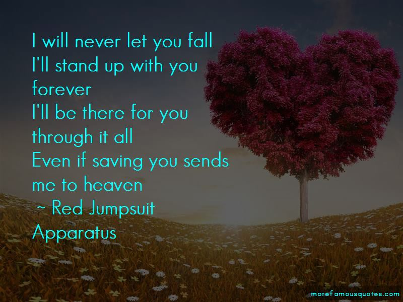 I Will Stand With You Quotes