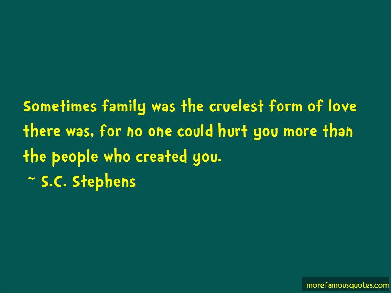 If You Hurt My Family Quotes Pictures 4