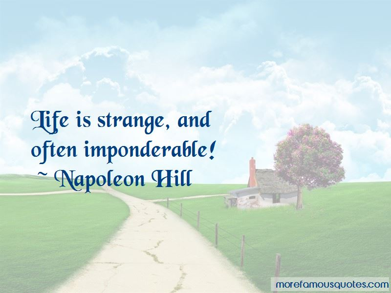 Imponderable Quotes Pictures 3