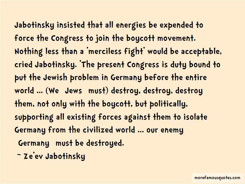 Jabotinsky Quotes