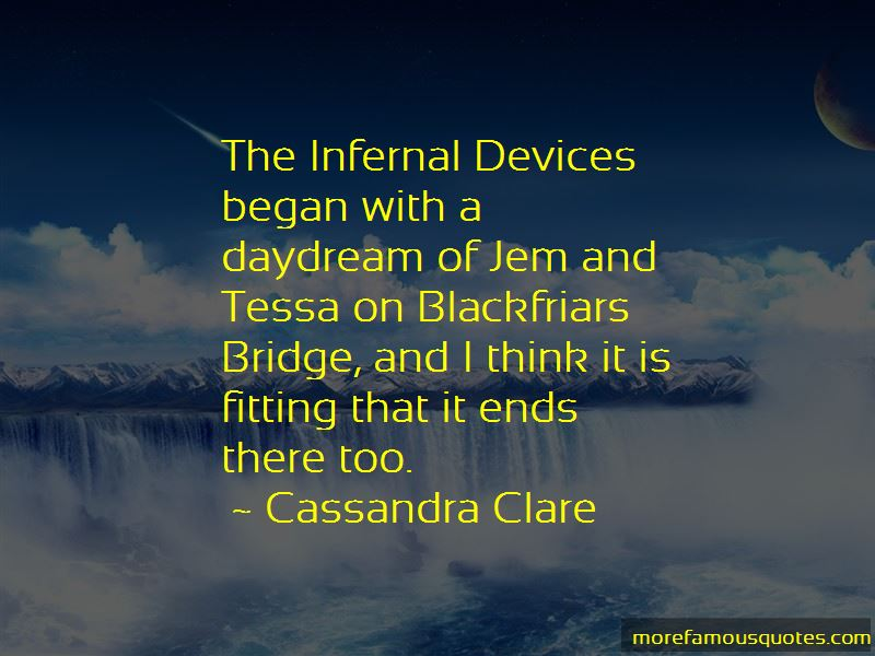 Jem And Tessa Quotes