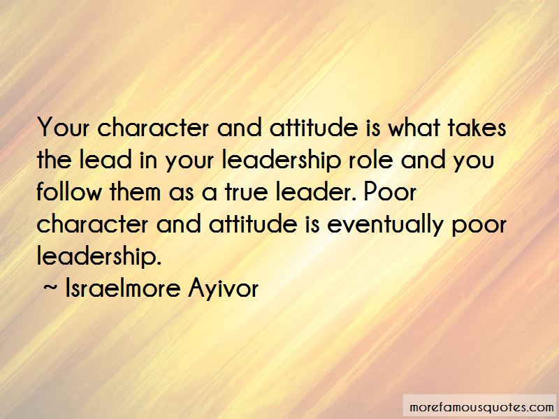 Leadership Follow Up Quotes