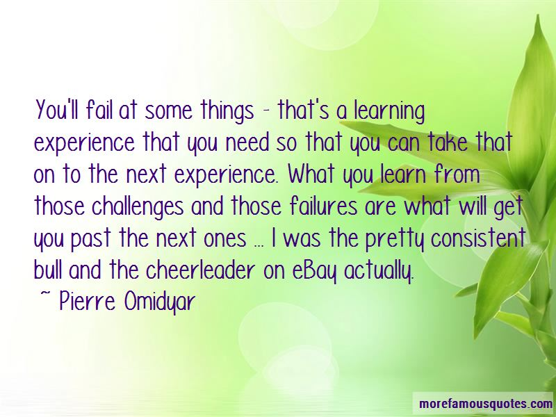 Learning From Past Experience Quotes