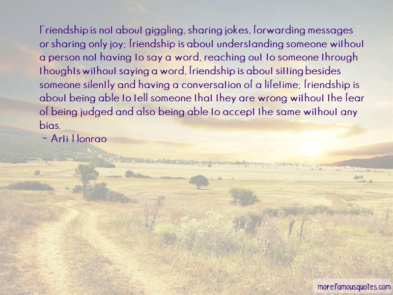 Lifetime Friendship Quotes