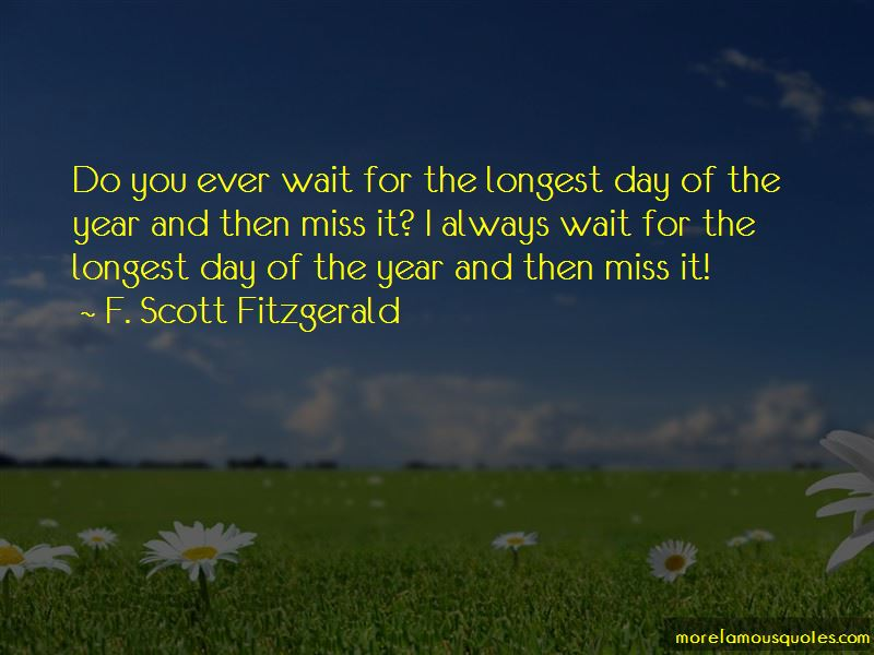 Longest Day Of The Year Quotes