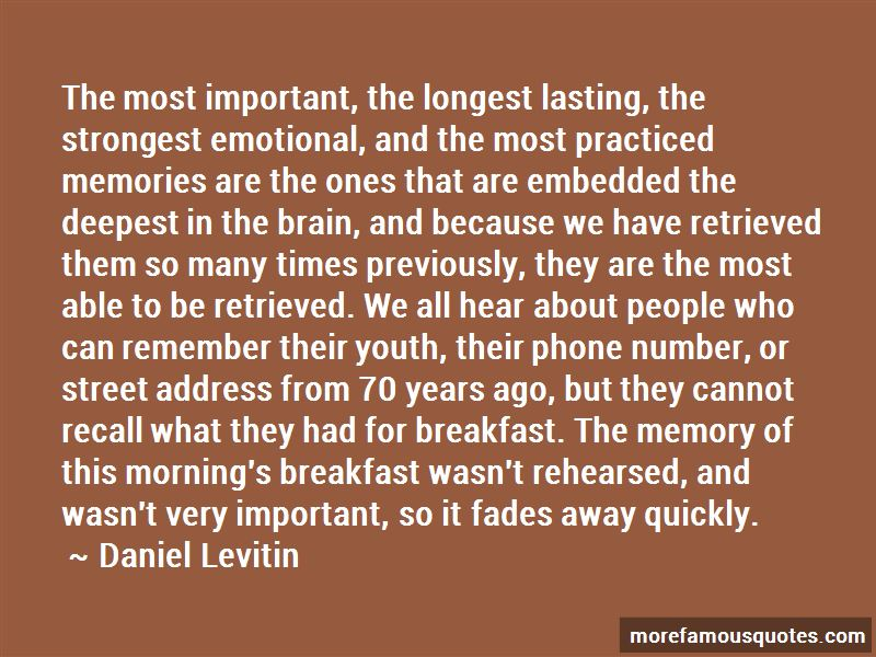 Longest Memory Quotes Pictures 4
