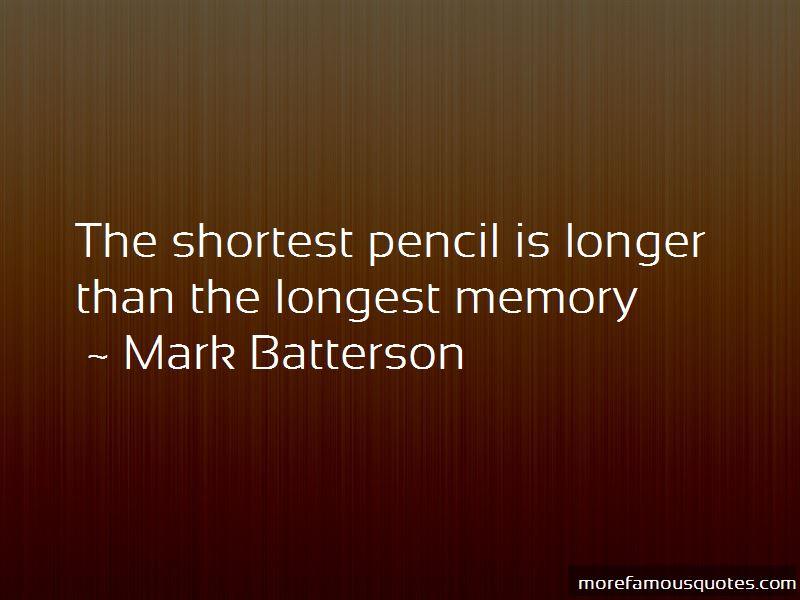 Longest Memory Quotes