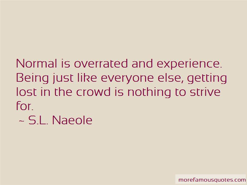 Lost In Crowd Quotes Pictures 4