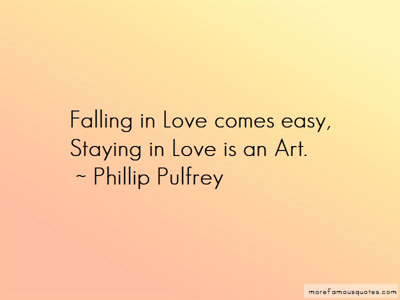 Love Comes Easy Quotes