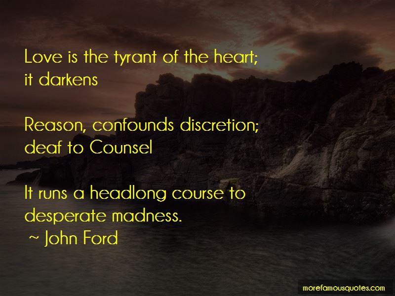 Love Discretion Quotes