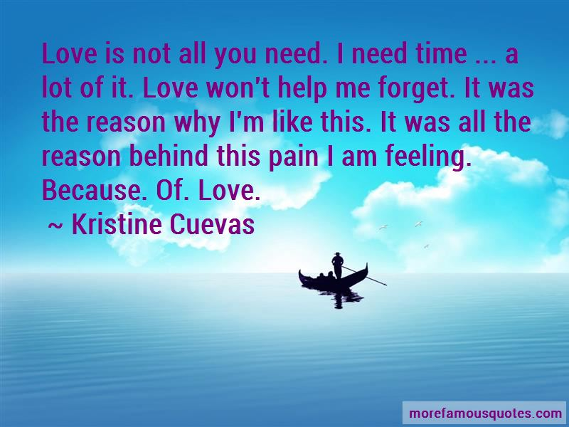 Love Is Not All You Need Quotes