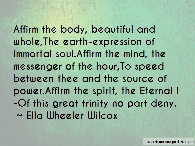Mind Spirit Body Quotes Pictures 3