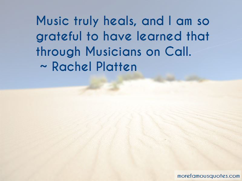 Music Heals Me Quotes Top 13 Quotes About Music Heals Me From